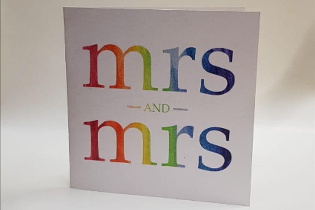 Same Sex Wedding Invites