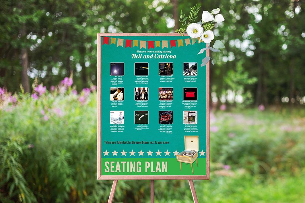Seating Plan Boards